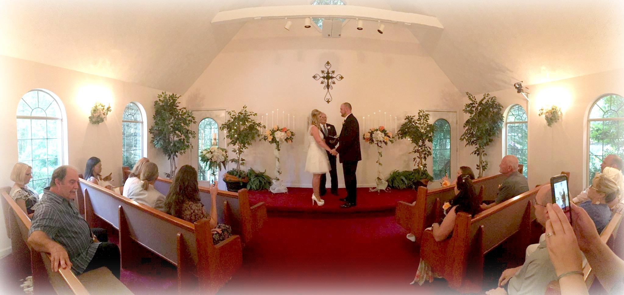 Our Beautiful Wedding Chapel